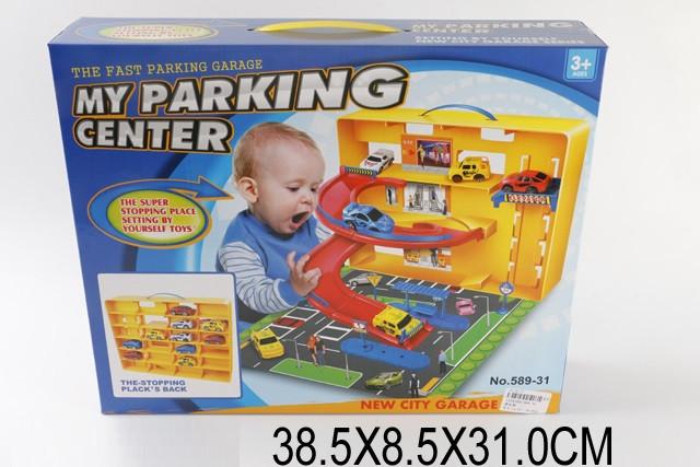 Паркинг автотрек 589-31 в кейсе. pro