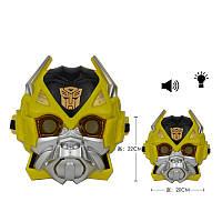 Трансформер Маска Bumblebee Бамблби свет звук. pro