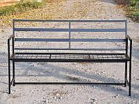Лавочка садовая металлическая, фото 1