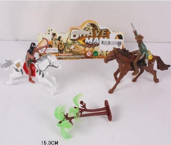 Набір індійці ковбої, индейцы ковбои кони 2в1. pro