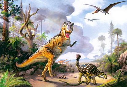 Пазлы Castorland 500шт. 51052 Динозаври. pro