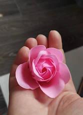 Подарочный набор мыла в виде лепестков роз,мыльные розы. Розы из мыла 18шт розовые, фото 3