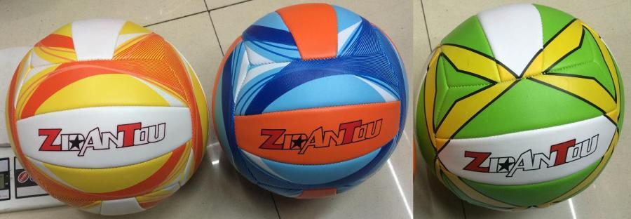 Мяч волейбол 0422 №5 PU 280 грамм 3 цвета. pro