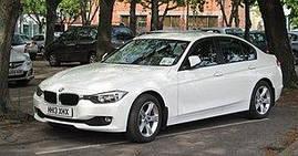 Коврики в салон BMW 3 (F30) (2011-2019) передние