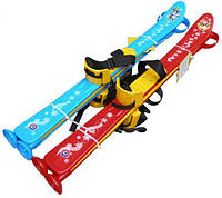 Лижі з палицями дитячі, 77см лыжи детские лижи. pro