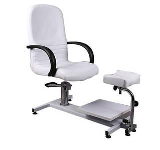 Педикюрное кресло гидравлика на станине для педикюрного кабинета модель SPA-100