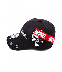 Офіційна кепка Marvel Comics – Punisher Grunge Cap With Patches