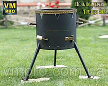 """Печь для казана """"Греция"""" 400 мм, под казан, сковороду,печь-мангал"""