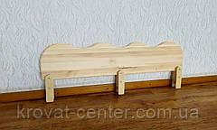 """Захисний бар'єр для дитячого ліжка """"Хвиля"""" від виробника 120 див., фото 2"""