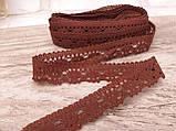 Тесьма натуральная серая, 1,7 см ( 1 метр), фото 8