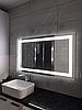 Зеркало с LED подсветкой,1200мм х 800мм, L49A