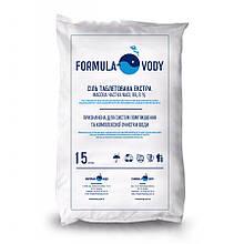 Соль таблетированная экстра, 15 кг