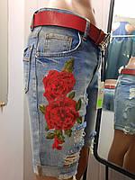 Жіночі джинсові капрі, фото 1