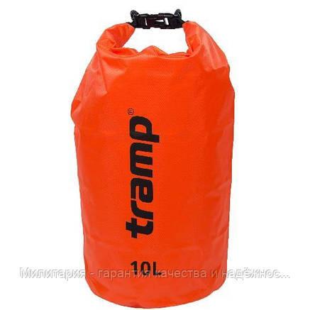 Гермомешок Tramp TRA-111-orange PVC Diamond Rip-Stop 10, фото 2