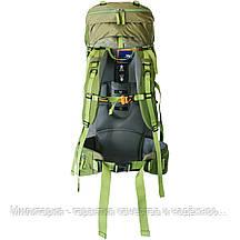 Рюкзак Tramp Floki 50+10 зеленый (TRP-046-green), фото 3