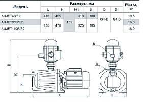 Насосные станции Насосы + AUJET110B/E2