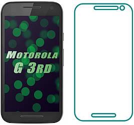 Защитное стекло Motorola Moto G (3rd) XT1550 (Прозрачное 2.5 D 9H) (Моторола Джи 3 ХТ1550)