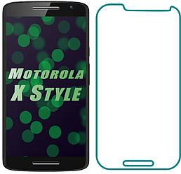 Защитное стекло Motorola Moto X Style XT1572 (Прозрачное 2.5 D 9H) (Моторола Х Икс Стайл ХТ1572)