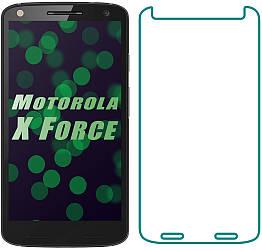 Защитное стекло Motorola Moto X Force XT1580 (Прозрачное 2.5 D 9H) (Моторола Х Икс Форс ХТ1580)