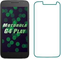 Защитное стекло Motorola Moto G4 Play XT1602 (Прозрачное 2.5 D 9H) (Моторола Джи 4 Плей ХТ1602)