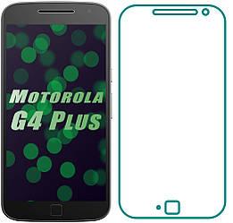 Защитное стекло Motorola Moto G4 Plus XT1642 (Прозрачное 2.5 D 9H) (Моторола Джи 4 Плюс ХТ1642)