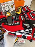 Кроссовки мужские Dolce & Gabbana D7944 красные, фото 6