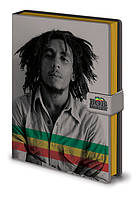 Блокнот Bob Marley / Боб Марлі (photo) A5 fabric, фото 1