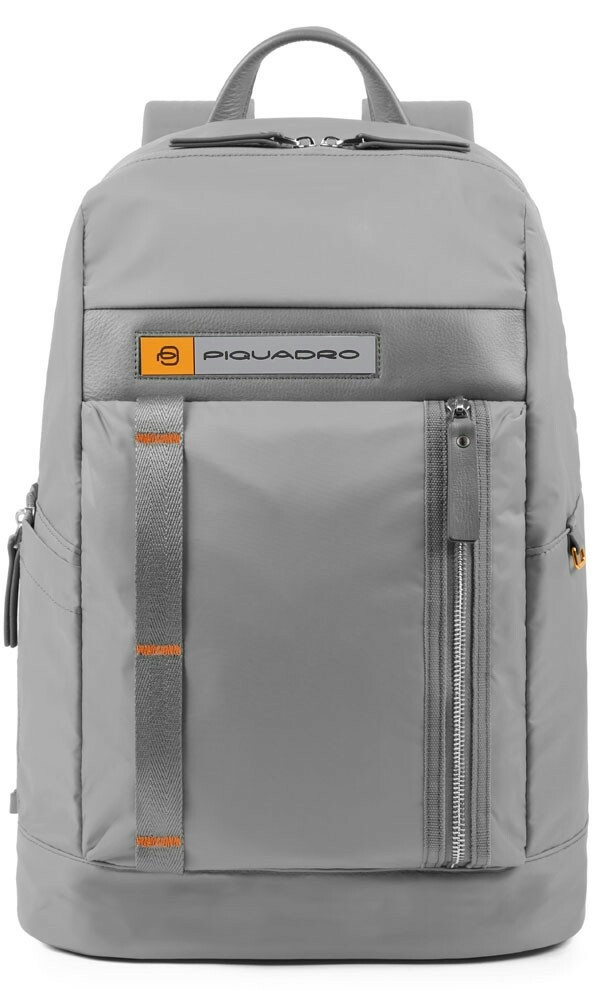 Рюкзак городской тканевый Piquadro PQ-Bios серый на 22л