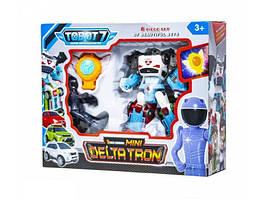 """Детский игровой набор \""""Q1908 DELTATRON\"""" из серии \""""Тобот\"""" с роботом-трансформером, игровыми фигурками героев и машинками"""