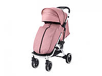 Прогулочная Коляска Dearest 818 Plus Пурпурно-Розовая, рама белая, фото 1