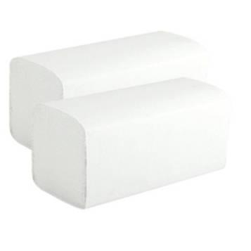 Полотенце бумажное белое тип V (200 шт/уп)