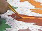 "Картина по номерам Идейка Портрет-абстракция ''Интрига творца"" 40х50см Бесплатная Доставка Justin, фото 8"