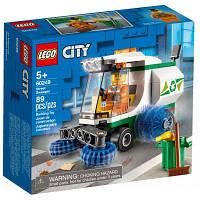 Конструктор LEGO City Great Vehicles Машина для очистки улиц 89 деталей (60249)