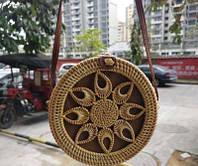 Женская плетённая сумочка. Модель 507, фото 9