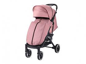 Коляска Dearest 818 Пурпурно-Рожевий, рама чорна