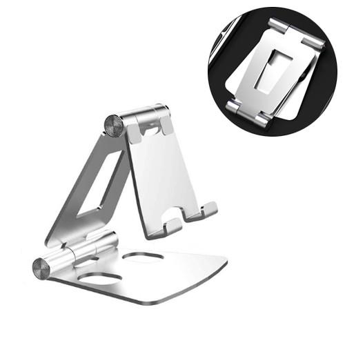 Подставка для смартфона, металлическая складная Licheers LZJ01, серая