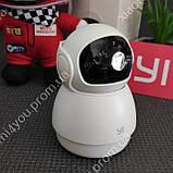 IP Купольная камера Xiaomi Yi 1080P FHD, 360 градусов, датчик движения,Wi-Fi, видеоняня, фото 2