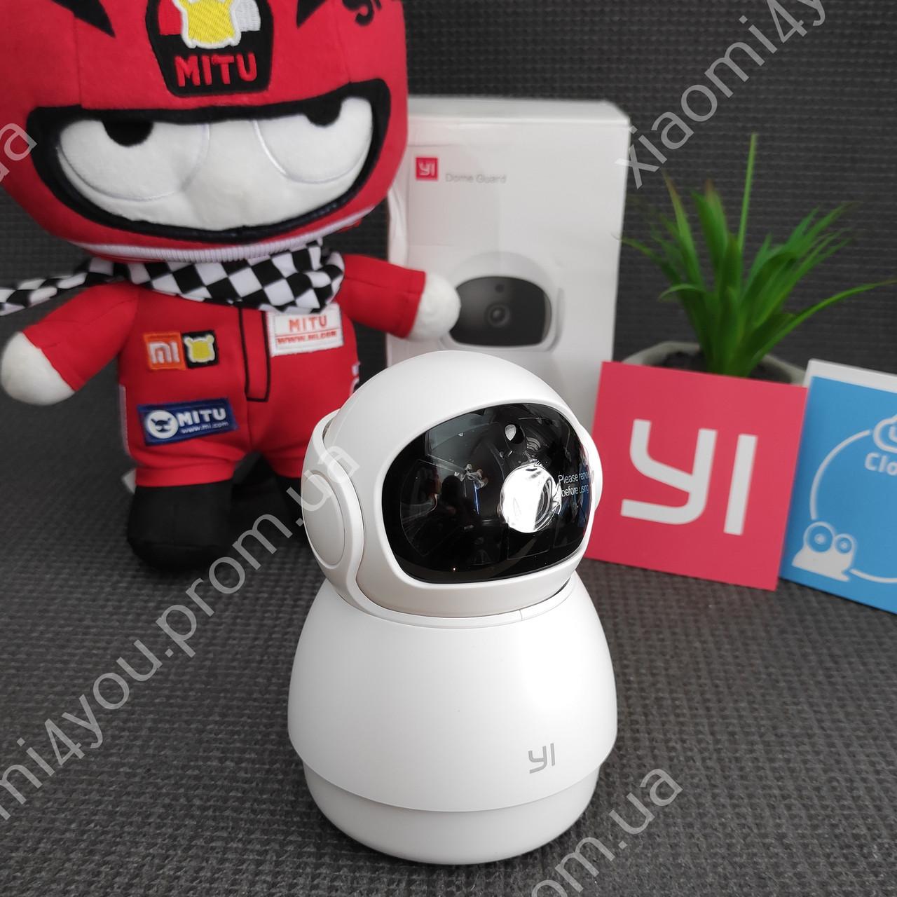 IP Купольная камера Xiaomi Yi 1080P FHD, 360 градусов, датчик движения,Wi-Fi, видеоняня