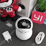 IP Купольная камера Xiaomi Yi 1080P FHD, 360 градусов, датчик движения,Wi-Fi, видеоняня, фото 4