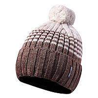 Вязаная мужская шапка с бубоном 44, фото 2