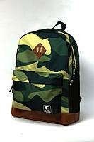 Не промокаемый молодежный рюкзак камуфляжный Camo
