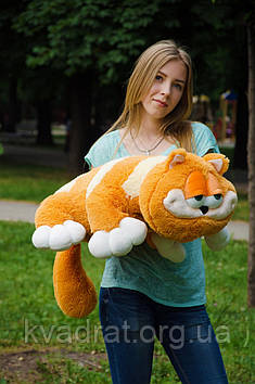 Плюшевий кіт Гарфілд 70 см