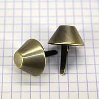 Ножка для сумки 20 мм антик a6628 (40 шт.)