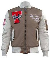 Бомбер Top Gun Stadium Varsity Jacket TGJ1636 (Brown), фото 1