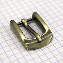 Пряжка 16 мм антик для сумок a3536 (5 шт.)