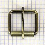 Пряжка проволочная 30 мм антик для сумок a3608 (10 шт.), фото 2