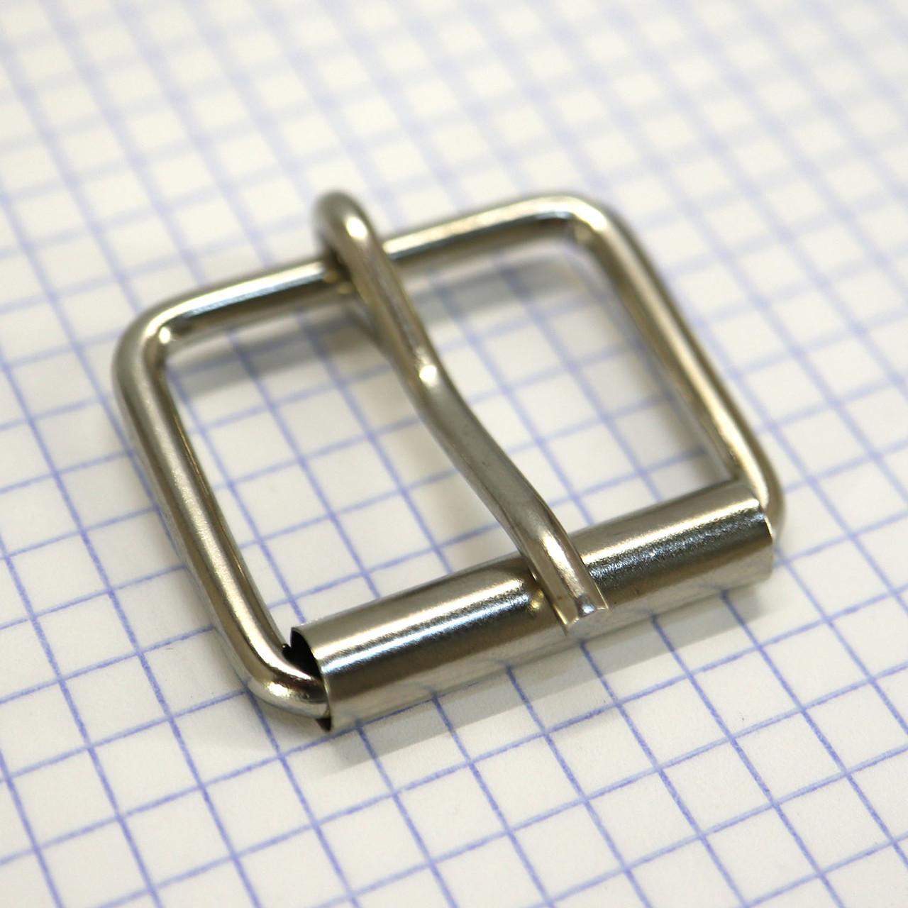 Пряжка проволочная 30 мм никель для сумок a3604 (20 шт.)