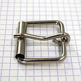 Пряжка проволочная 30 мм никель для сумок a3604 (20 шт.), фото 3