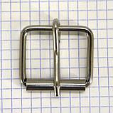 Пряжка проволочная 30 мм никель для сумок a3604 (20 шт.), фото 4