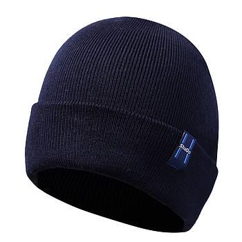 Мужская шапка синий